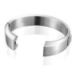 Faly Stainless Steel Bangle Bracelet for Fitbit